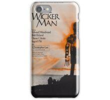 The Wicker Man iPhone Case/Skin