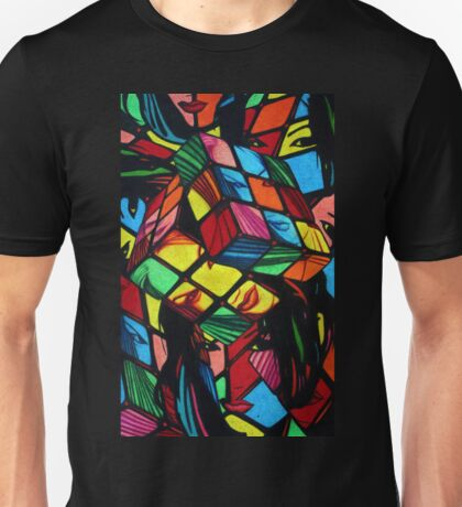 Mad Era Rude B*itch Cube (Rubicks) Unisex T-Shirt