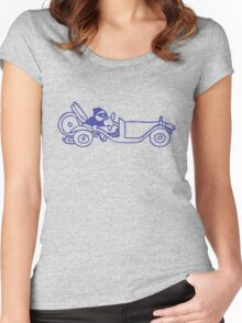 Oldsmobile driver... Women's Fitted Scoop T-Shirt