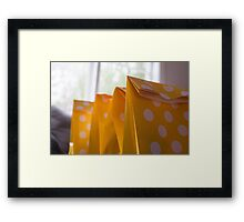 Day 28 - Yellow Framed Print