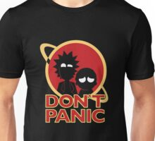 Rick And Morty Dont Panic Unisex T-Shirt