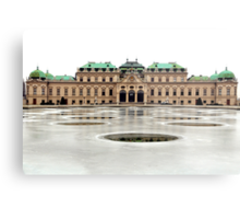 The Belvedere Palace in Vienna Metal Print
