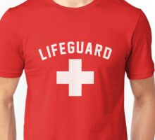 Lifeguard Red Swimming Pool Unisex T-Shirt