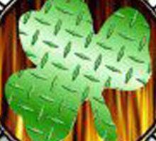 Malteese Cross IRISH Firefigter Sticker
