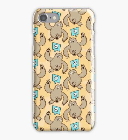 Sloth Kill Chu iPhone Case/Skin