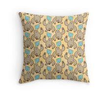 Sloth Kill Chu Throw Pillow