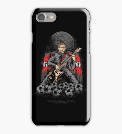 Heavy Metal Football iPhone Case/Skin