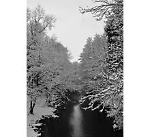 Snowy River Photographic Print