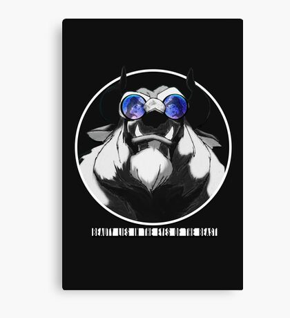 Remember The Beast Canvas Print