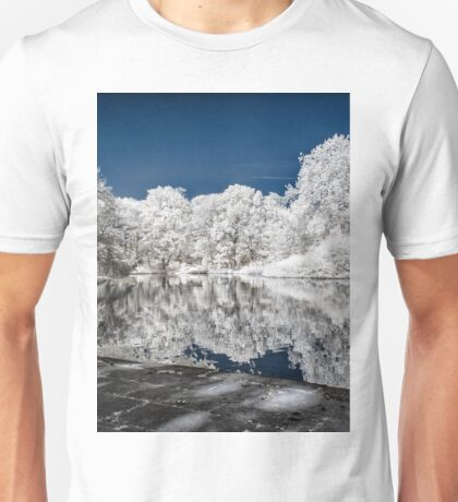 Lake Reflections - Infrared Unisex T-Shirt