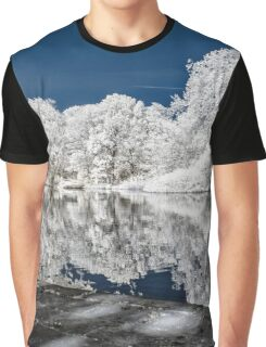 Lake Reflections - Infrared Graphic T-Shirt