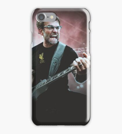 Heavy Metal Football Klopp iPhone Case/Skin