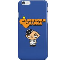 orange clockwork Family Guy iPhone Case/Skin