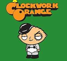 orange clockwork Family Guy by nordensoul