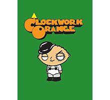 orange clockwork Family Guy Photographic Print