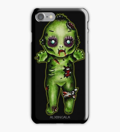 Zombie Kewpie iPhone Case/Skin