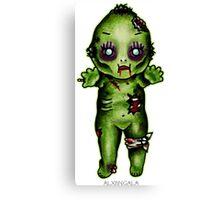 Zombie Kewpie Canvas Print