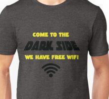 Dark Side has Free WiFi Unisex T-Shirt