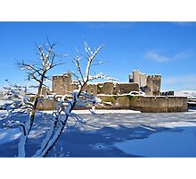 Christmas Castle Photographic Print