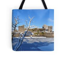 Christmas Castle Tote Bag