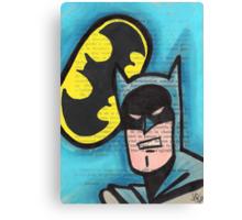 Retro B-man Canvas Print