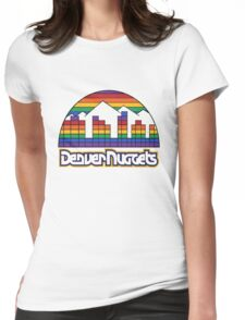 old denver Womens Fitted T-Shirt