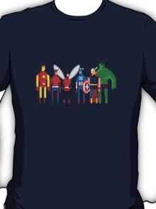 8-Bit Marvels Avengers T-Shirt