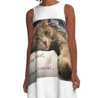 Be a cat A-Line Dress