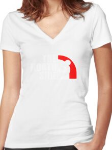 The North Side Women's Fitted V-Neck T-Shirt