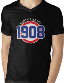 Party Like It's 1908 Mens V-Neck T-Shirt