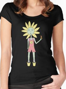 Daisy Love in colour Women's Fitted Scoop T-Shirt