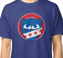 Cubbies Chicago Flag Bandana Face Classic T-Shirt