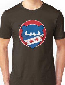 Cubbies Chicago Flag Bandana Face Unisex T-Shirt