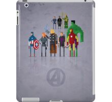 8-Bit Marvels Avengers Movie iPad Case/Skin