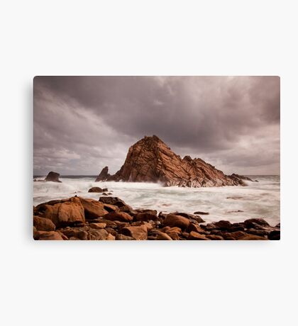 Storm Clouds over Sugarloaf Rock Canvas Print