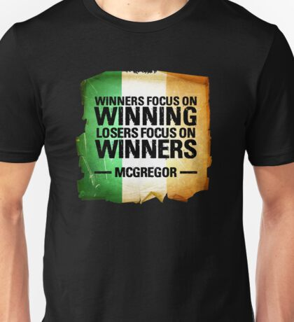 McGregor - Winners focus on winners Unisex T-Shirt