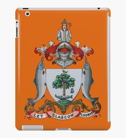 Let Glasgow Flourish Coat of Arms iPad Case/Skin