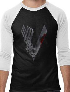 V T-shirts Men's Baseball ¾ T-Shirt