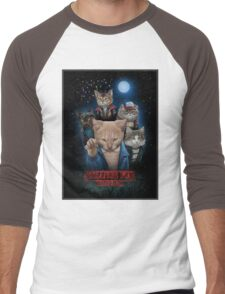 Stranger Furr!! Men's Baseball ¾ T-Shirt
