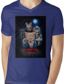 Stranger Furr!! Mens V-Neck T-Shirt