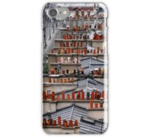 Parisien chimneys iPhone Case/Skin