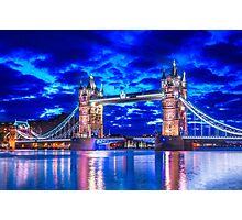 Tower Bridge Of Lights Photographic Print