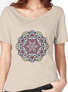 Flowers mandala #38 Women's Relaxed Fit T-Shirt