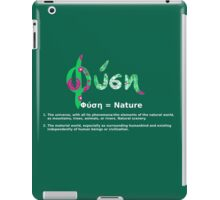 GREEK NATURE iPad Case/Skin