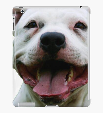 PLAYFUL PUPPY PIT BULL iPad Case/Skin