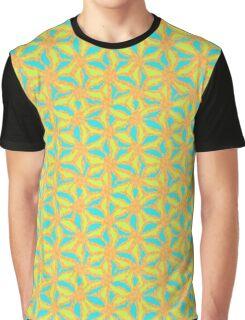 Golden Starburst Graphic T-Shirt