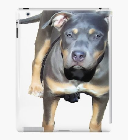 YOUNG PIT BULL PUP iPad Case/Skin
