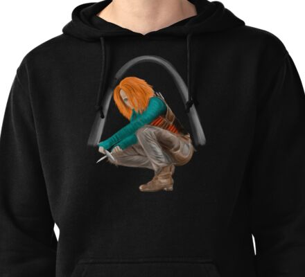Little Wolf Pullover Hoodie