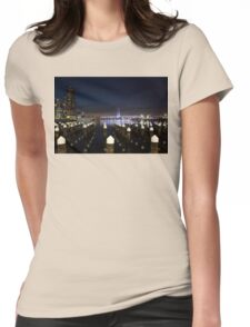 Night Moves Womens Fitted T-Shirt