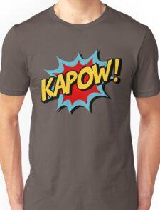 Kapow! Comic Book Unisex T-Shirt